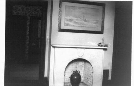 Southwest bedroom mantel