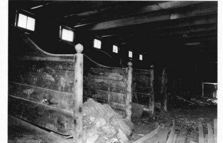 Original stables interior