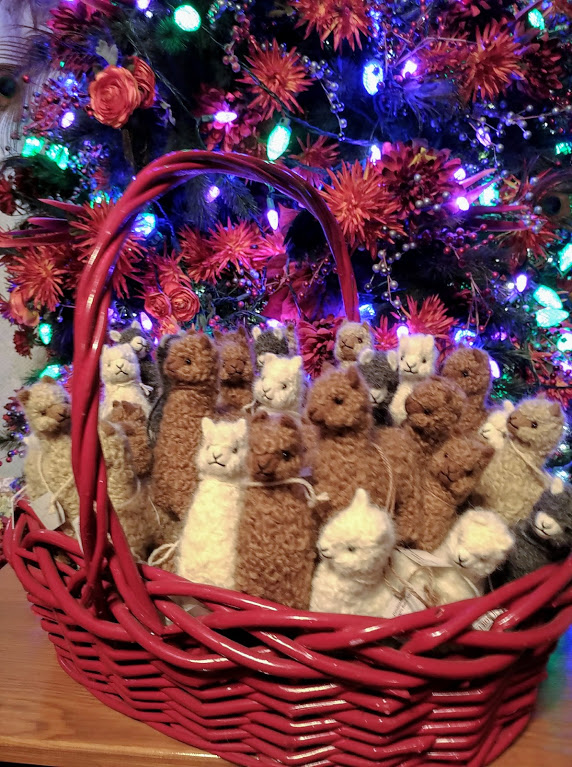Alpaca Finger Toys Christmas Gifts